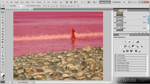 Selections, alpha channels, and layer masks, oh my!: Photoshop Selections Workshop
