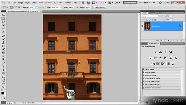 The Rectangular Marquee tool: Photoshop Selections Workshop