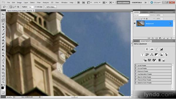 The Lasso tool: Photoshop Selections Workshop