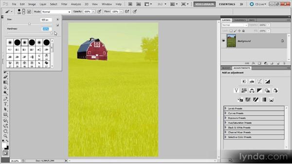 Quick Mask mode: Photoshop Selections Workshop