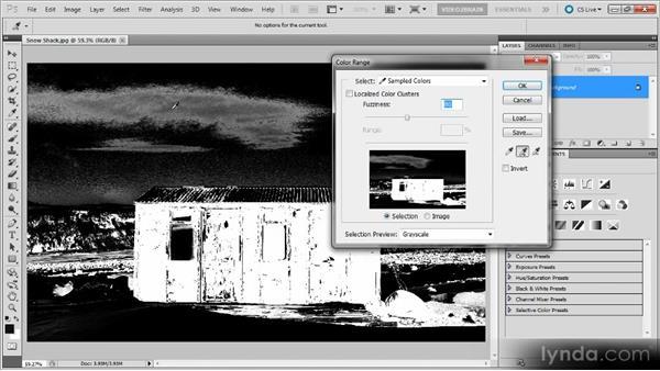 The Color Range command: Photoshop Selections Workshop