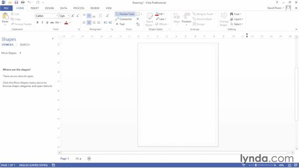 Customizing the Ribbon and the Quick Access Toolbar: Up and Running with Visio 2013