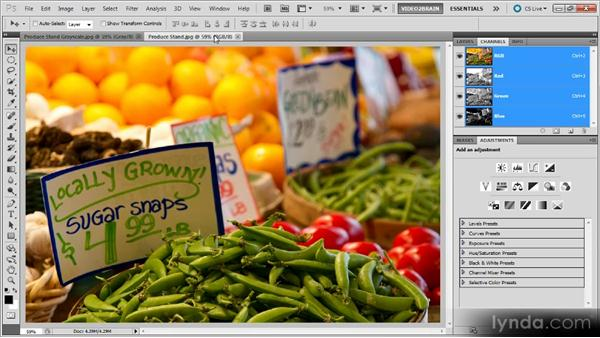 The value of color: Photoshop Black-and-White Workshop