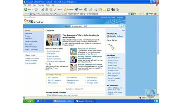 Office online: Outlook 2003 Essential Training