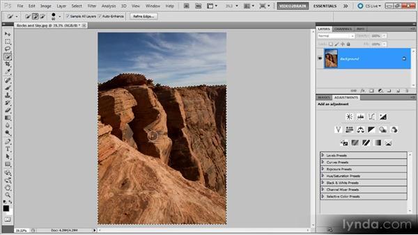 Selective black-and-white adjustments: Photoshop Black-and-White Workshop