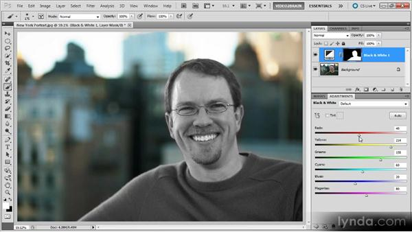 Black-and-white portraits: Photoshop Black-and-White Workshop