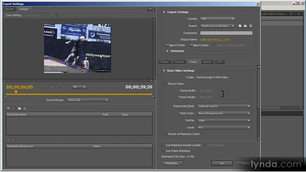 Deinterlacing: Up and Running with Adobe Media Encoder