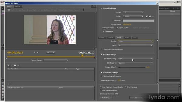 Producing H.264 for Flash: Up and Running with Adobe Media Encoder