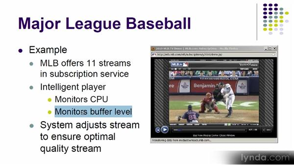 Overview of adaptive bitrate streaming: Up and Running with Adobe Media Encoder