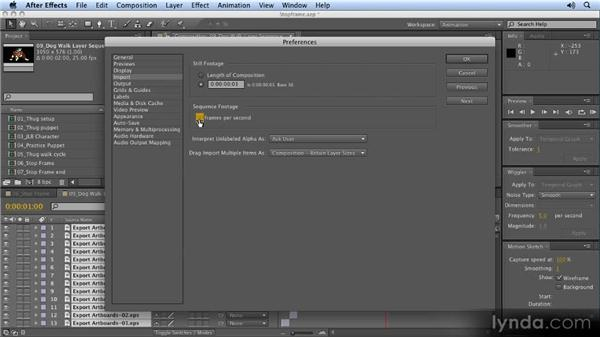 Sequencing hand-drawn layers: 2D Character Animation with After Effects