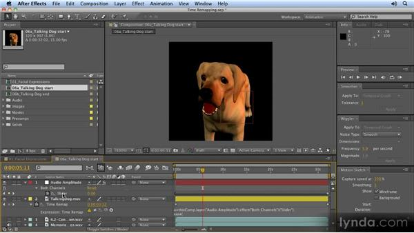 Automatically lip-syncing to audio: 2D Character Animation with After Effects