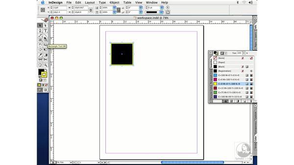 toolbox color: InDesign CS Essential Training