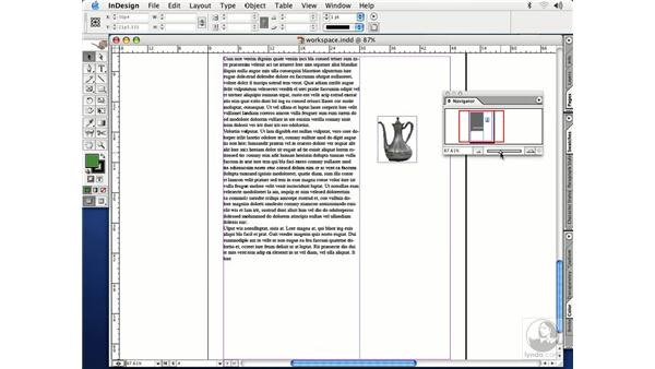 navigating the pages: InDesign CS Essential Training
