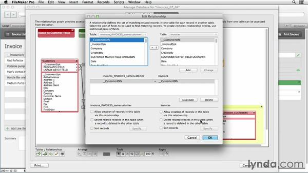 "Creating a ""self"" relationship: FileMaker Pro 12 in Depth"