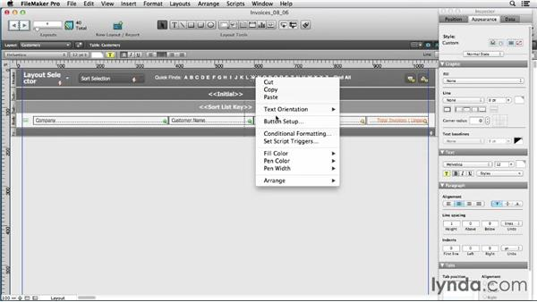 Setting script parameters: FileMaker Pro 12 in Depth
