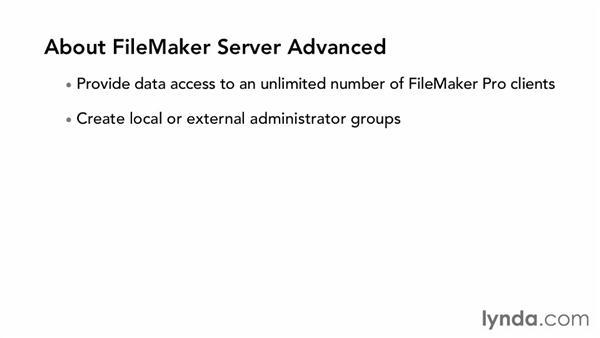FileMaker Server vs. FileMaker Server Advanced: FileMaker Pro 12 in Depth