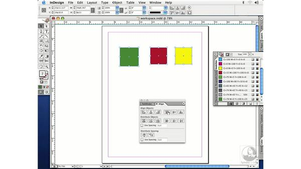 working with objects: InDesign CS Essential Training