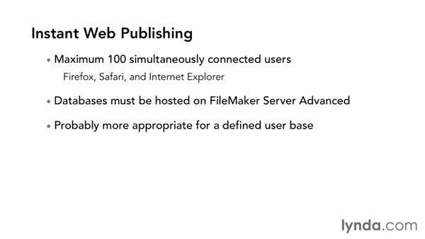 Understanding Instant Web Publishing (IWP): FileMaker Pro 12 in Depth