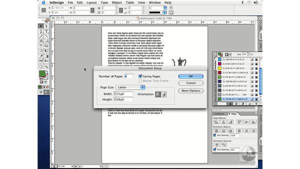 viewing modes: InDesign CS Essential Training