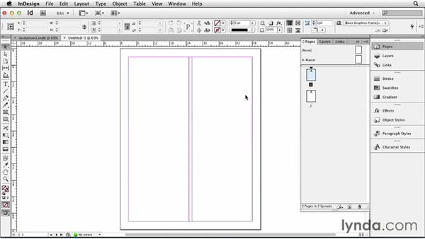 Setting up the document: Designing an Invitation
