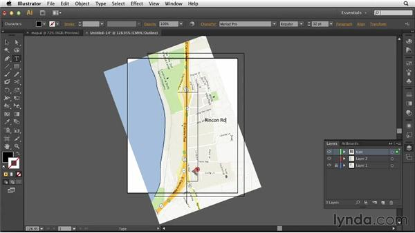 Creating the map: Designing an Invitation