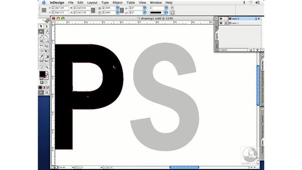 pen tool: InDesign CS Essential Training