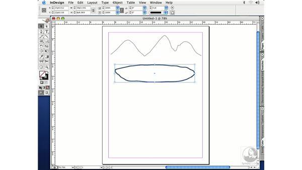 pencil tool: InDesign CS Essential Training