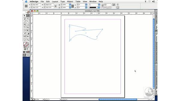 frame tools: InDesign CS Essential Training