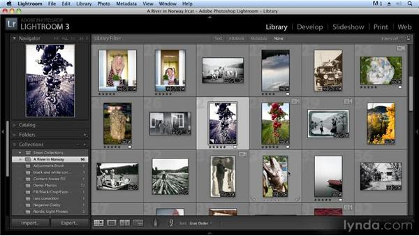 Organizing images in Adobe Lightroom: Creating Slideshows with FotoMagico and Photoshop