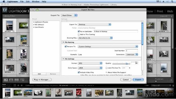 Exporting images from Lightroom: Creating Slideshows with FotoMagico and Photoshop