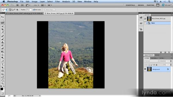 Creating a controlled fade-in and fade-out: Creating Slideshows with FotoMagico and Photoshop