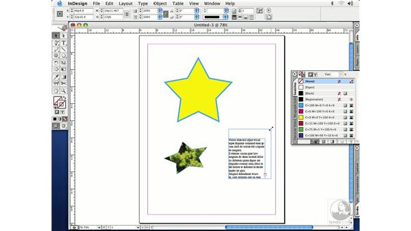 rotate, scale and shear: InDesign CS Essential Training