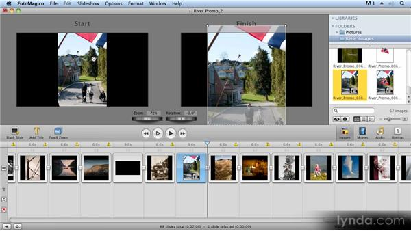 Using Photoshop and FotoMagico to create a 2.5D effect: Creating Slideshows with FotoMagico and Photoshop