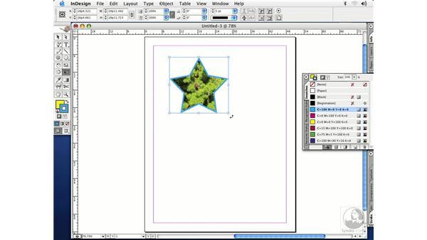 free transform: InDesign CS Essential Training