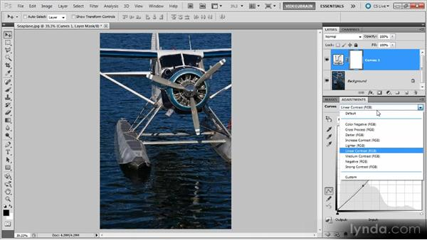 Using Curves presets: Photoshop Curves Workshop