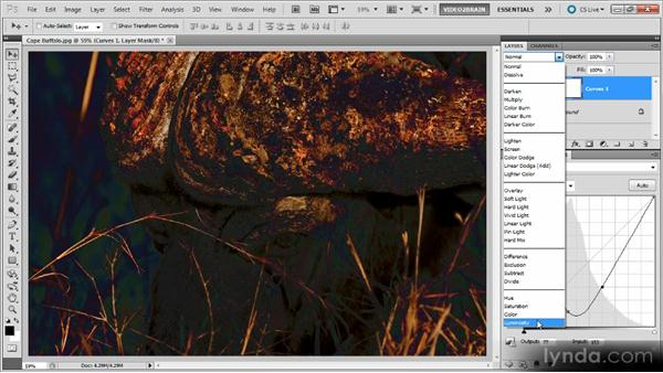 Using the Luminosity blend mode: Photoshop Curves Workshop
