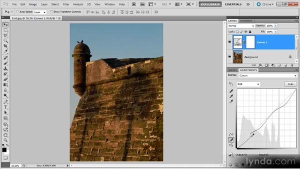 Using the Pencil tool: Photoshop Curves Workshop