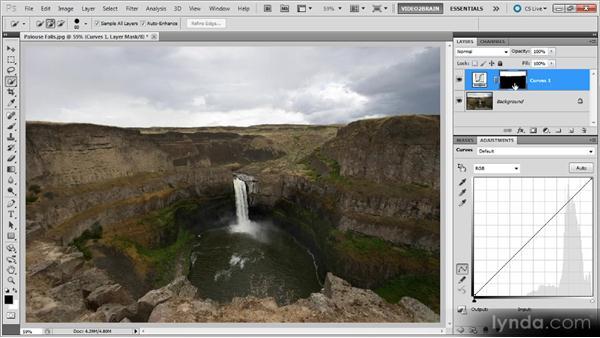 Targeted Curves adjustments: Photoshop Curves Workshop