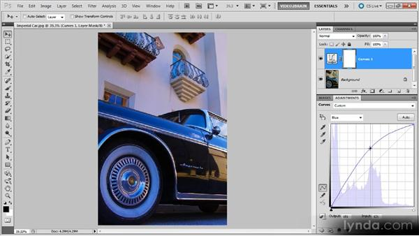 Adjusting color balance with curves: Photoshop Curves Workshop
