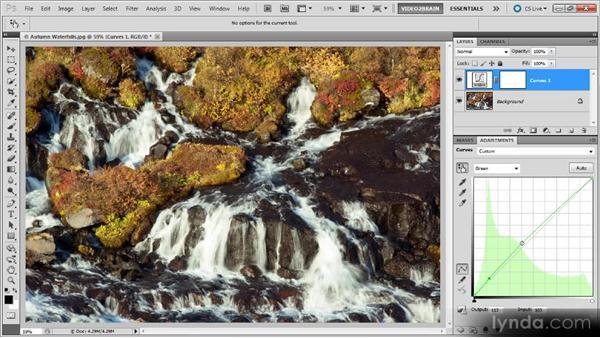 Advanced color balancing: Photoshop Curves Workshop