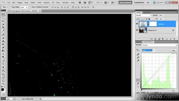 Creating neutral white or black points: Photoshop Curves Workshop