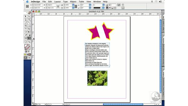 scissors tool: InDesign CS Essential Training