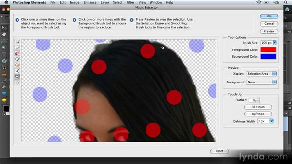 Using the Magic Extractor: Combining Images with Photoshop Elements 9
