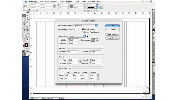 document presets: InDesign CS Essential Training