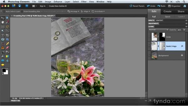 What is a mask?: Combining Images with Photoshop Elements 9