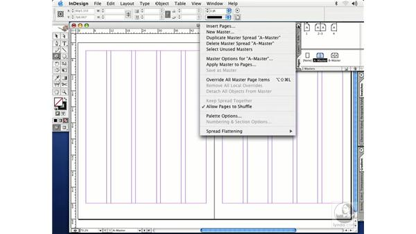 master pages: InDesign CS Essential Training