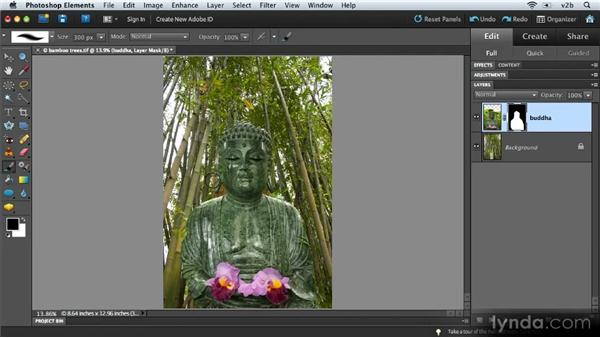 Creating a fine-art montage: Combining Images with Photoshop Elements 9