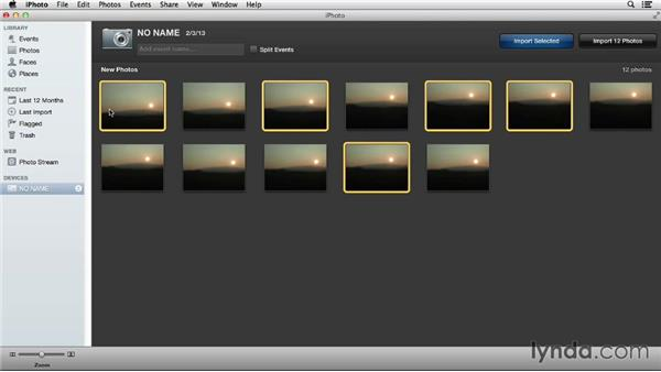 Simplified importing with iPhoto: Using iPhoto and Aperture Together