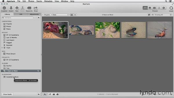 Comparing iPhoto and Aperture library organization: Using iPhoto and Aperture Together