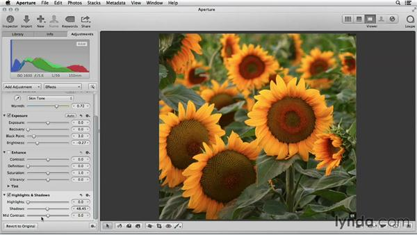 The seven-step image edit in Aperture: Using iPhoto and Aperture Together
